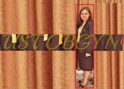 Dr. Ana Liezel Sahagun, an OB-Gyn resident UST