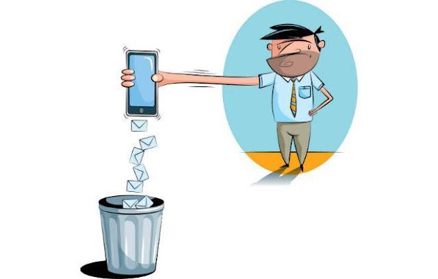 Cansou de receber SMS contendo SPAM?