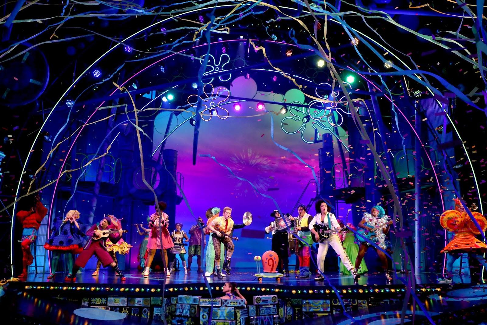 NickALive!: 'SpongeBob SquarePants: The Broadway Musical ...