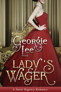 Lady's Wager, sweet romance novel, sweet, Regency, romance, novel, book, England, history
