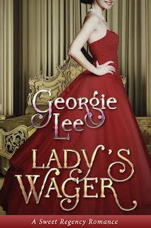Lady's Wager, sweet romance novel, sweet, Regency, romance, novel, book, England, history