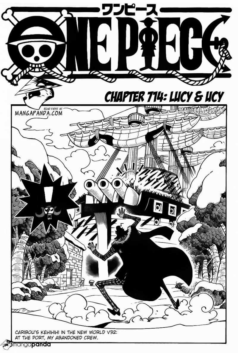 OP M4I ch714 01 One Piece 714   Lucy & Ucy