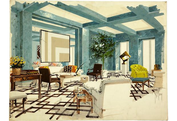 Albert Hadley Interior Design