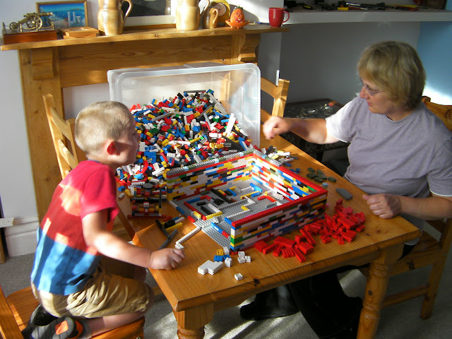 family activity lego project