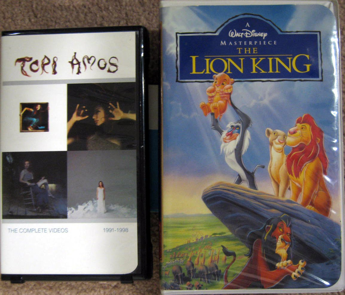 the lion king vhs value