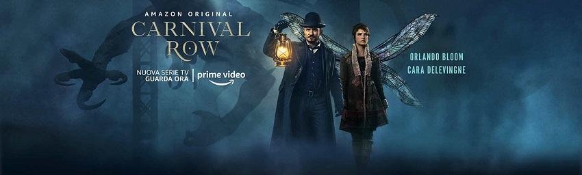 Link ad Amazon prime per vedere la serie fantasy Carnival Row.