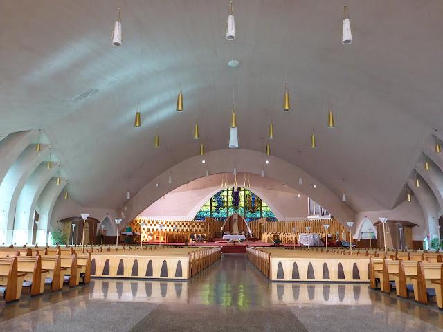 Cathédrale de Nicolet Québec intérieur