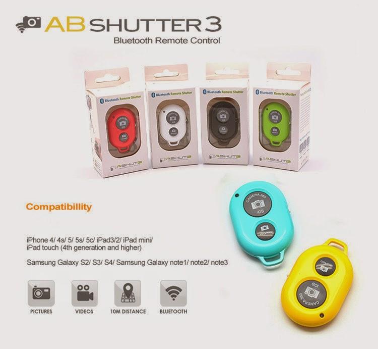DAC Tech Online: Ashutb Bluetooth remote control self timer