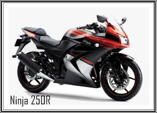 Motor parts: New color Kawasaki Ninja 250R Candy Burnt Orange