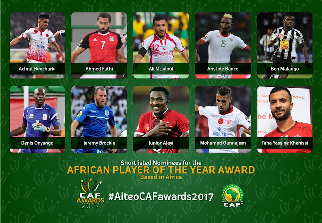 Liverpool Mohamed Salah among the best in Africa after the list was reduced to 11 players