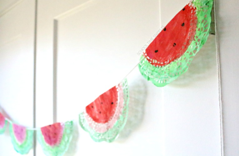 WATERMELON FRUIT GARLAND