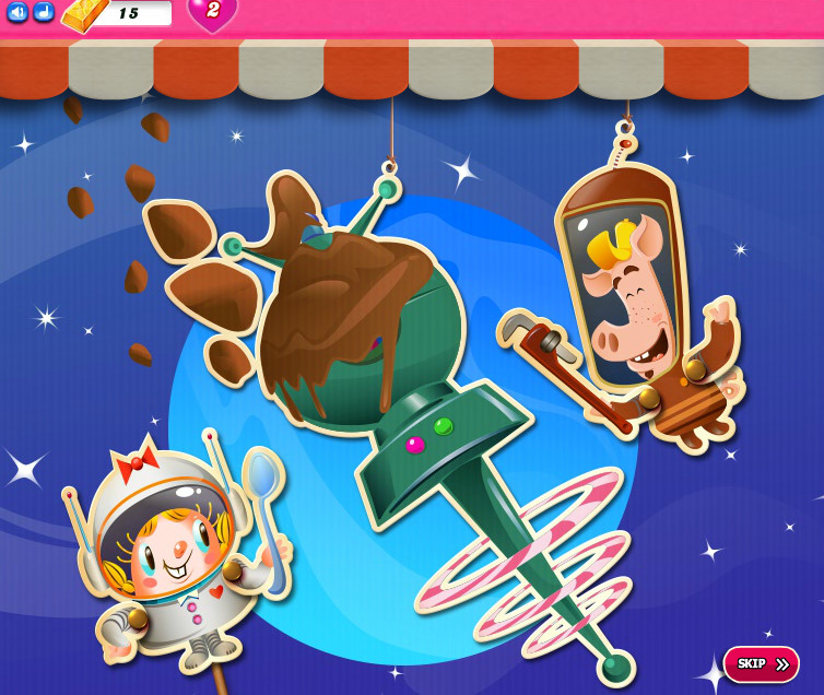 Candy Crush Saga level 2376-2390