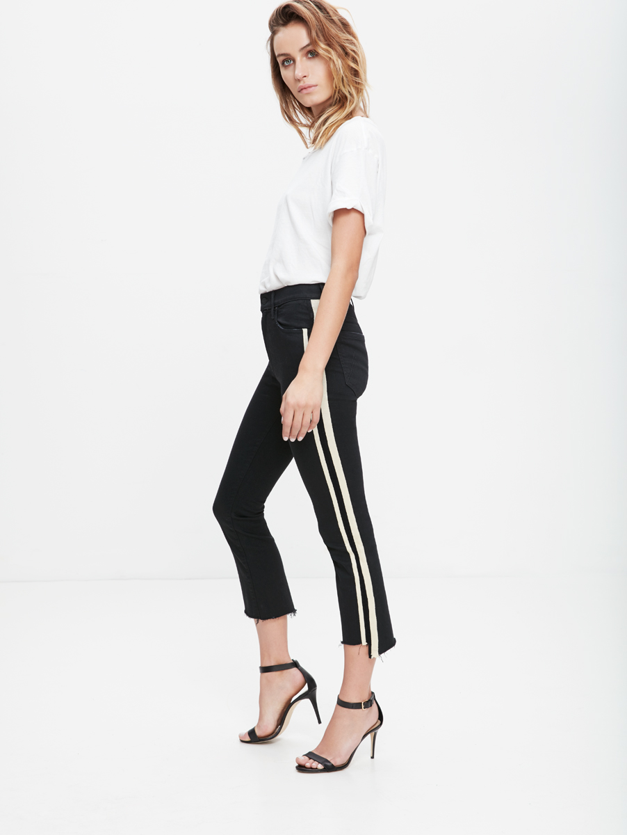 b0f0cabbfd2 Mother Denim Insider Crop Step Fray Jeans