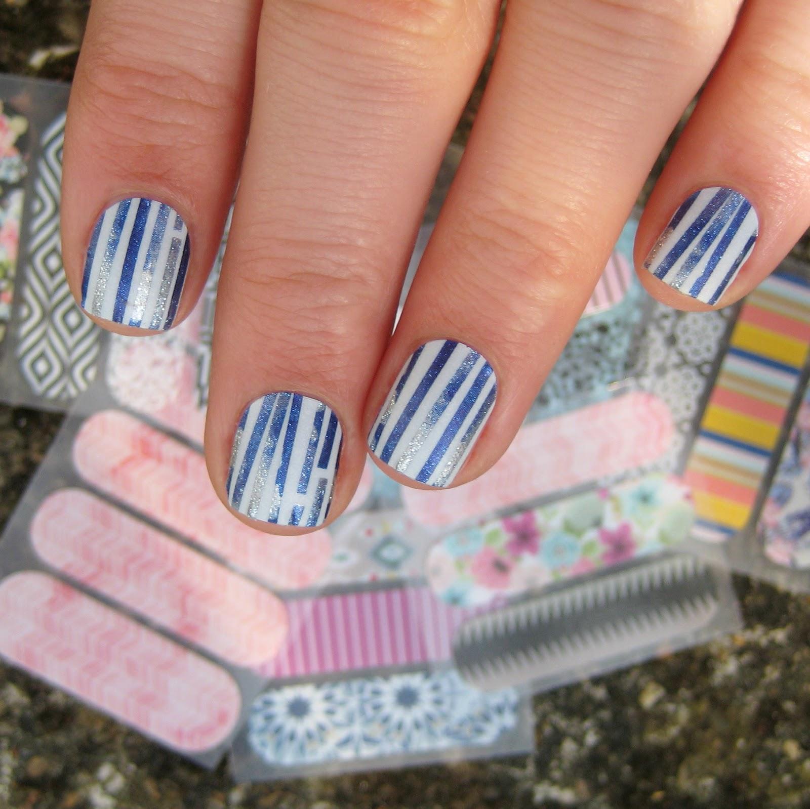 Dahlia Nails: Jamberry Nail Wraps