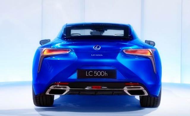 2017 Lexus LC 500 Redesign