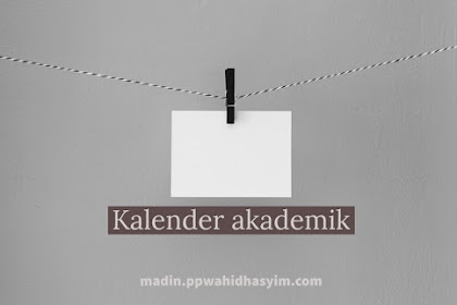 Kalender Akademik Semester Genap 2018/2019
