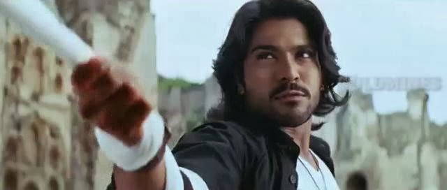 Screen Shot Of Hollywood Movie Magadheera (2009) In Hindi Telugu Full Movie Free Download And Watch Online at worldfree4u.com