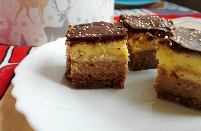 Trojni Užitek Pecivo / Triple Pleasure Dessert
