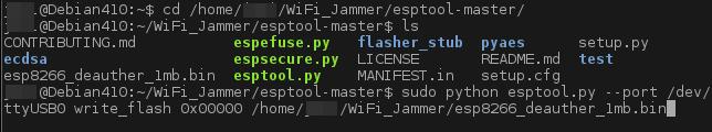 Hagamos un WiFi Jammer!
