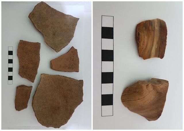 Em Mata Grande, cerâmicas indígenas são resgatadas em sítio arqueológico