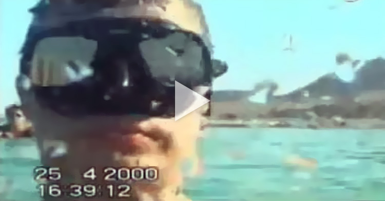 Diver records his own tragic death as he sinks to the ocean floor