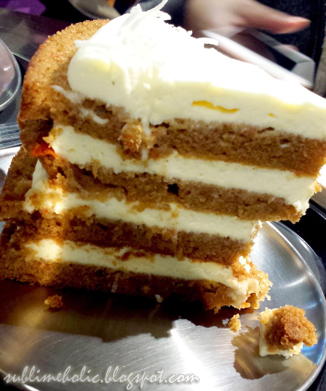 Slice Carrot Cake Calories