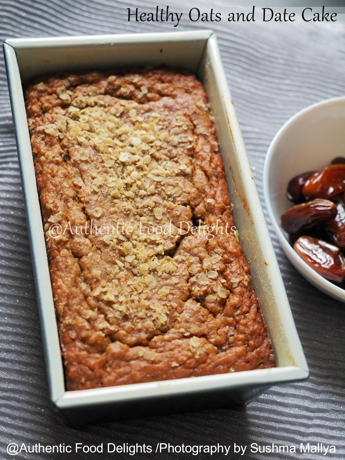 Aayi recipe date cake