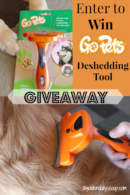 GoPets dog grooming tools review and giveaway
