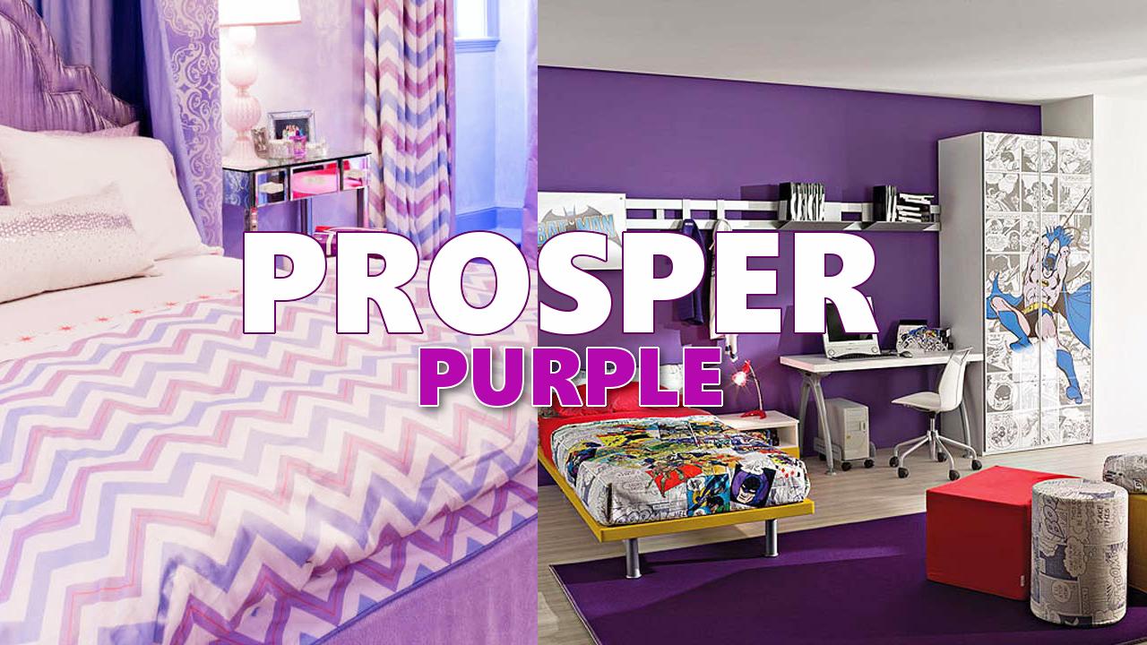 Purple home decorating ideas
