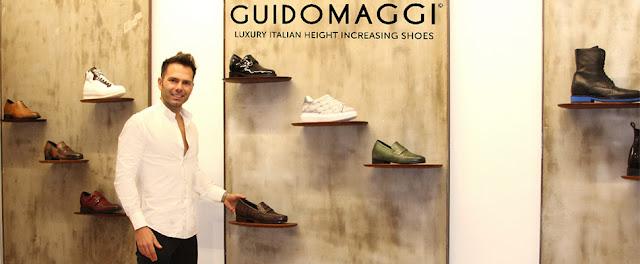 showroom milano di scarpe con rialzo