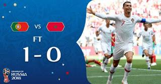 Portugal vs Maroko 1-0 Highlights