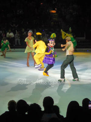 Mardis Gras, Disney on Ice, Princess Tiana, Feld Entertainment