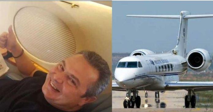 Ο Καμμένος έχει κάνει ταξί το πρωθυπουργικό αεροσκάφος