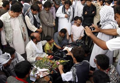 Las víctimas serán enterradas en un parque dedicado al líder hazara Abdul Ali Mazari.