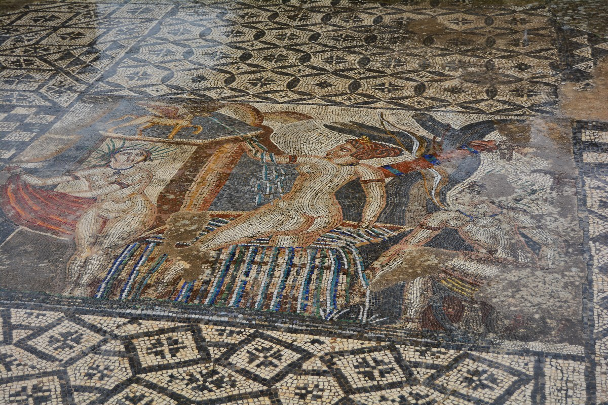 Mosaïque de Diane, maison de Vénus