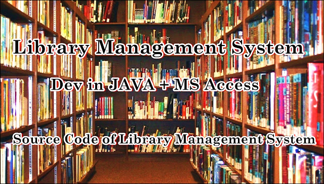 library system in java