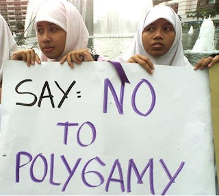 NO to Polygamy
