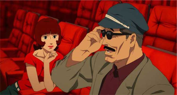 Detective Toshimi Konakawa talks to Paprika about his dreams.