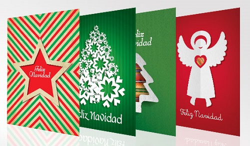 Las tarjetas de navidad - Como realizar tarjetas navidenas ...