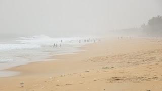 Long stretch of nice sandy beach