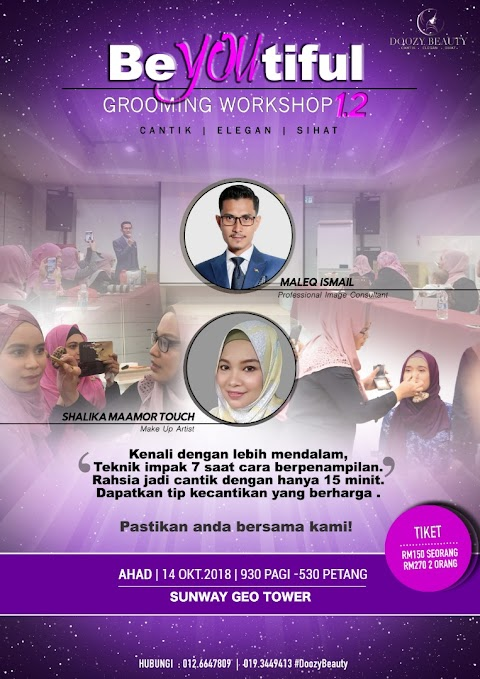 Grooming Workshop 1.2 - BeYOUtiful