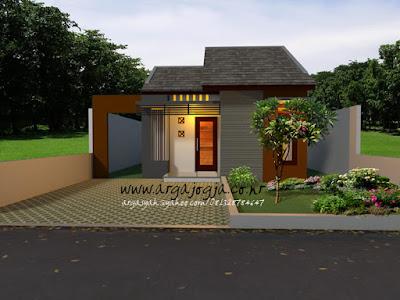 Desain Rumah Mungil Tipe 36