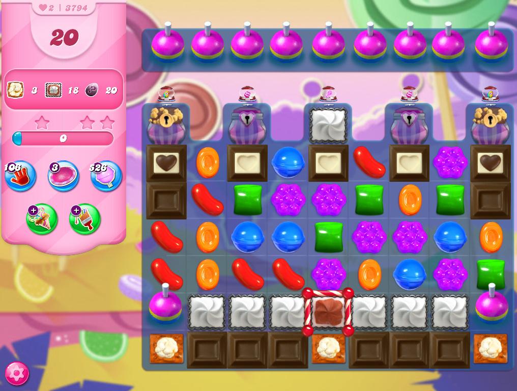 Candy Crush Saga level 3794