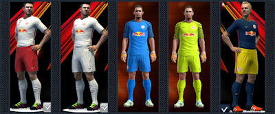PES 2013 Red Bull Salzburg kit 2016-17 by Radymir