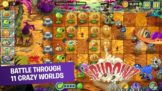 Plants vs. Zombies 2 Mod Apk Android