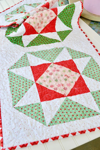 Lucky Star by Jedi Craft Girl found on A Bright Corner - pattern from the Fresh Fat Quarter Quilts Book by Andy Knowlton