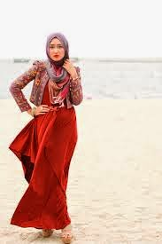Koleksi Model Baju Pesta Muslim Dian Pelangi Trends Pakaian Lebaran
