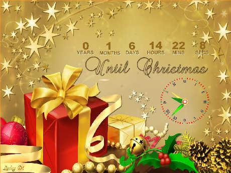 Free christmas countdown wallpaper 2017 grasscloth wallpaper - How to make a countdown your wallpaper ...
