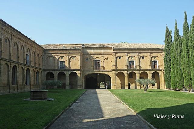 Monasterio de la Oliva, hospedería