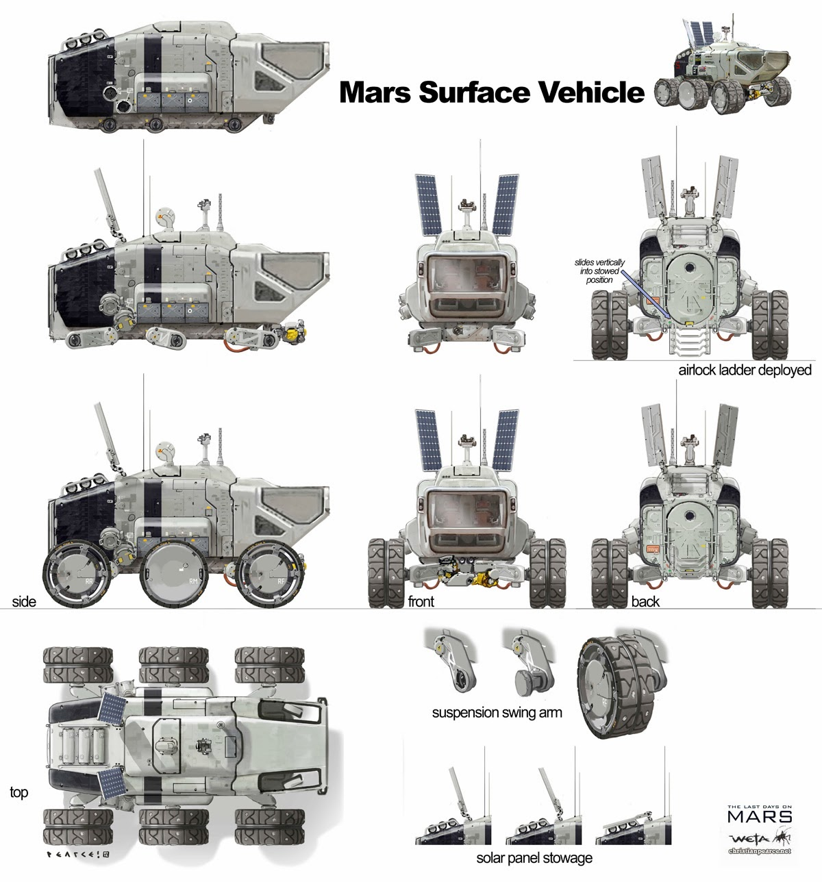 what was the design for the mars rover - photo #40